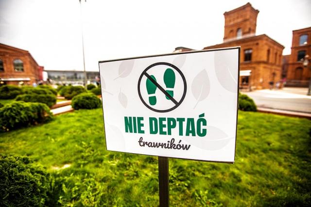 Tablica informacyjna Duża park lawkiparkowe.com